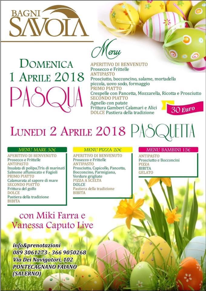 Locandina Pasquetta 2018 Salerno